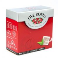 Five Roses - tagless 100's - 250g